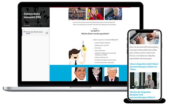 e-learning Datenschutz für gewerbliche Mitarbeiter