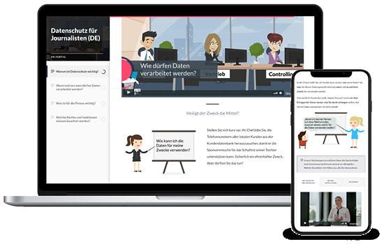 E-Learning Datenschutz für Redakteure und Journalisten
