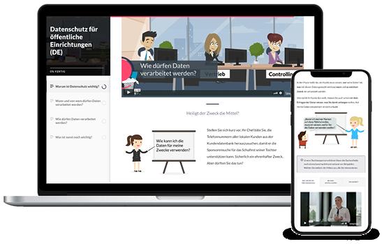e-learning Datenschutz für öffentliche Einrichtungen