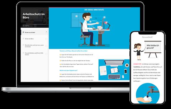 e-learning Arbeitsschutz im Büro
