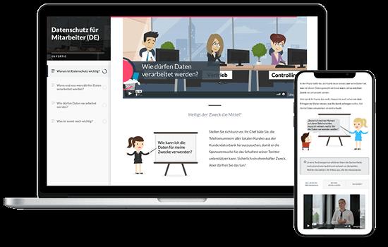 e-learning Datenschutz für Führungskräfte