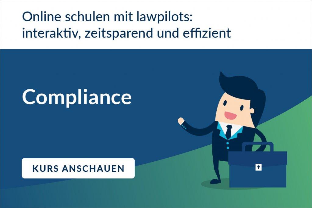 Online Schulung Compliance