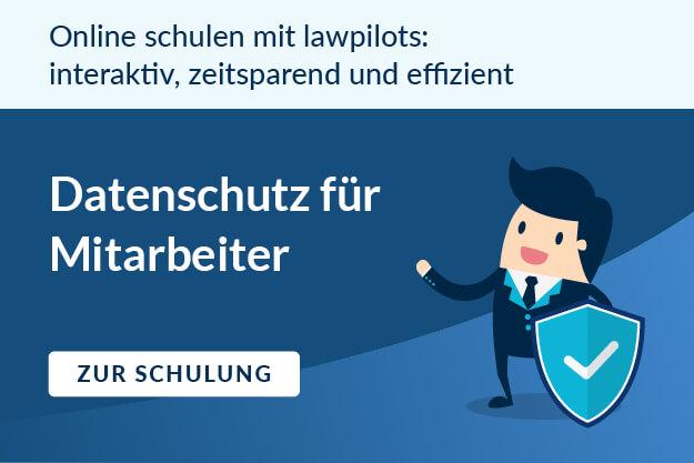 Datenschutz für Mitarbeiter Banner