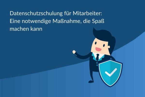 Titelbild Datenschutzschulung für Mitarbeiter